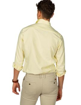 Camisa Hombre Harper And Neyer Sapporo Light Yellow