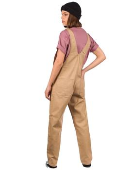 Mono Mujer Carhartt Overall Cotton Dusty Marrón Rinsed