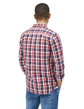 Camisa Hombre Pepe Jeans Braxton Cuadros Multi