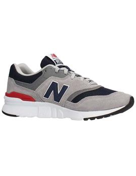 New Balance Zapatilla Mujer CM997 Lifestyle Gris