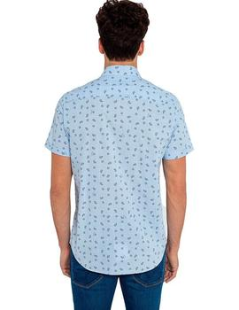 Camisa Hombre Pepe Jeans Melvin Azul