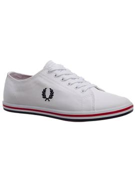 Zapatillas Hombre Fred Perry kingston Twill Blanco