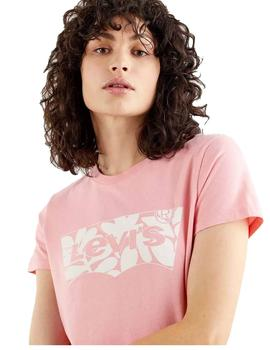 Camiseta Mujer Levis The Perfect Batwing Fill Artistic Shape