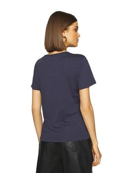 Camiseta Mujer Tommy Jeans Tjw Soft Jersey Tee Twilight Navy