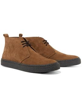 Fred Perry Bota Hombre Hawley Suede