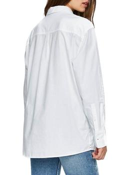 Tommy Jeans Camisa Mujer Boyfriend Chest Detail