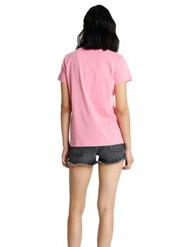 Levis Camiseta Mujer The Perfect HSMK Sachet Rosa