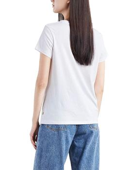 Levis Camiseta Mujer The Perfect Tee Peanuts Hsmk