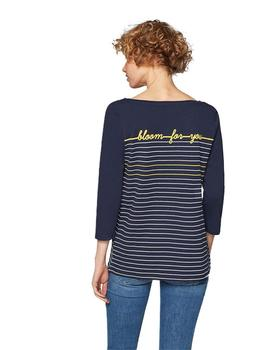 Esprit Camiseta Mujer Bloom For You Marino