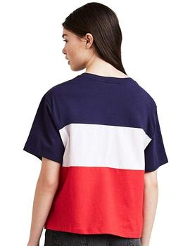 Levis Camiseta Mujer Colorblock Tee Graphic