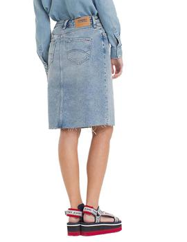 Tommy Jeans Falda Mujer Denim Long Skirt Maia