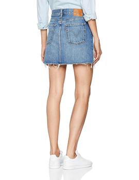 Levis Falda Mujer Deconstructed Skirt Middle Man