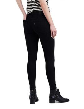 720 HIGH RISE SUPER SKINNY NEGRO
