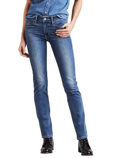 Levis Vaqueros Mujer 712 Slim Off The Record