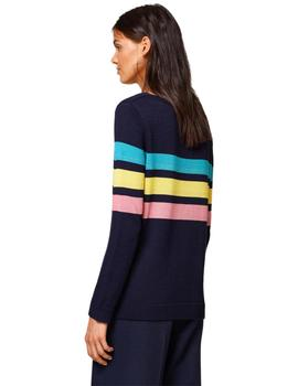 EDC By Esprit Jersey Mujer Rayas