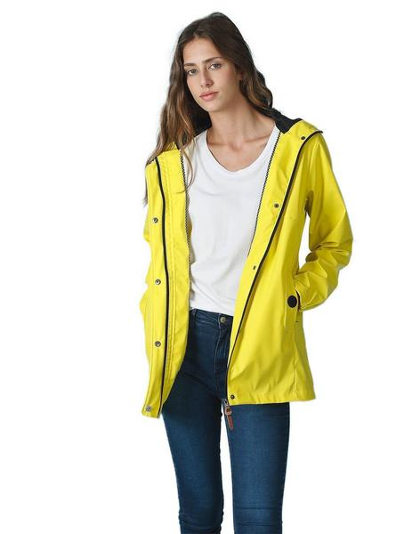 Indi And Cold Parka Mujer Water Resistant Amarillo