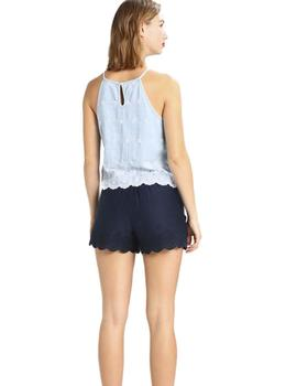 Superdry Top Para MUjer Lotte Azul