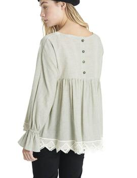 Maggie Sweet Blusa Mujer Crochette