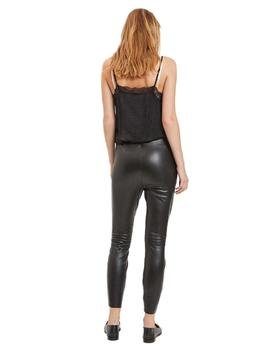 Vila Legging Mujer Viemma Faux Leather 7/8