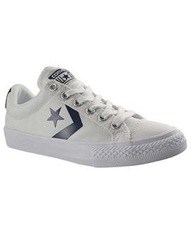 Converse Star Player EV OX Blanco/Negro Zapatilla