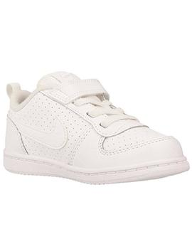 Nike Court 870029 Zapatilla Kids Blanco